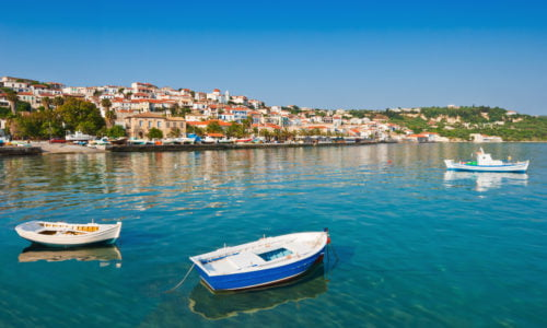 Athens Airport Transfer to/from Koroni with Taxi, Minivan